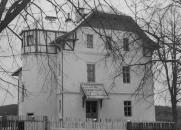 Lékařský dům v Olešovicích v r. 1946
