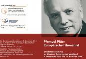 Europäischer Humanist Přemysl Pitter