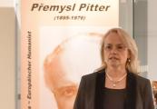 "Prezentace německého vydání autobiografie P. Pittra ""Unter dem Rad der Geschichte"""
