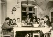 Židovská mládež ve Štiříně na podzim 1945